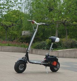 Wholesale Gasoline Scooters Mini Motorcycle Stroke Lightweight Foldable Mobility Scooter Single Leisure Motorcycle Outdoor Sports Car