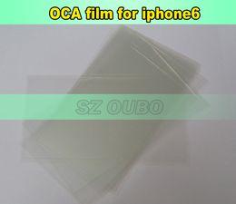 Película Mitsubishi OCA etiqueta adhesiva transparente pegamento de doble cara óptica para iPhone6 6G LCD / 800pcs vidrio digitalizador / lot DHL desde envío libre del iphone de la manzana fabricantes
