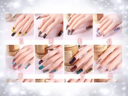 2015 New 3D Mix Color Floral Design Nail Art Stickers Decals Manicure Beautiful Fashion Accessories Decoration