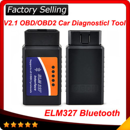 Wholesale Elm327 Bluetooth CAN bus OBD II Elm OBD2 Scanner code reader OBD2 EOBD CAN BUS