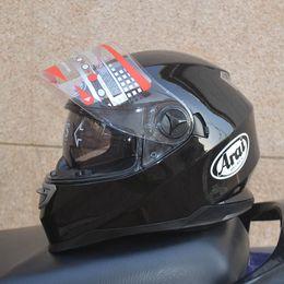 Wholesale motorcycle helmet ARAI helmet DVS Dual Visor System Motorcycle Full Face Helmet DOT best