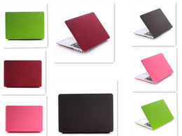 Wholesale Best quality hard plastic laptop computer protector cover smooth skin front back cover case for Macbook Pro Air
