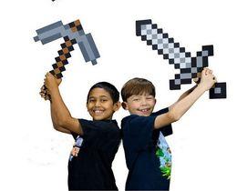 Wholesale Minecraft Sword Pickaxe Foam Combo Minecraft Foam Sword Pickaxe Toy For Baby Children