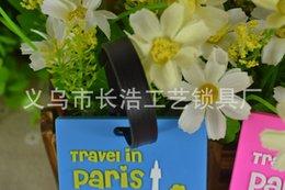 Manufacturers [ cheap custom   customized ] luggage tag , plastic luggage tag , PVC luggage tag cjsj