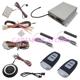 Wholesale Hot Selling Intelligent PKE Car Alarm System With Engine Start Stop Push Button And Password Keyboard Operation Smart Key Alarm