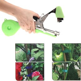 Wholesale New Garden Plants Tools Agriculture Tape Tool Hand Tying Machine Home for Fruit Vegetable Vine Tomato Metal