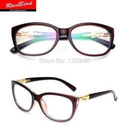 wholesale brand designer cat eye retro computer fashion glasses frame elegant womens glasses marcas oculos de