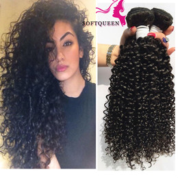 Youtube Review Products Malaysian Curly Hair Weave Indian Peruvian Brazilian Virgin Hair Kinky Curly Human Hair bundles 3pcs lot