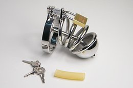Male chastity devices With stainless Catheter Male Chastity Device Cock Cage stainless steel chastity steel 923
