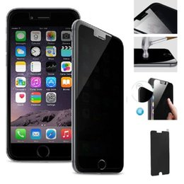 ePacket.For iPhone 6 Plus 5 5S Privacy Anti-Spy Tempered Glass Screen Protector For iPhone6 6G 6+ iPhone5 5G Privacy Glass Screen