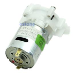 Wholesale New Mini Micro Water Priming Gear Pump DC V V RS SH Spray Motor order lt no track
