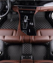 Wholesale Best quality Custom special floor mats for Mercedes Benz GL X166 seats wear resisting carpets for GL550