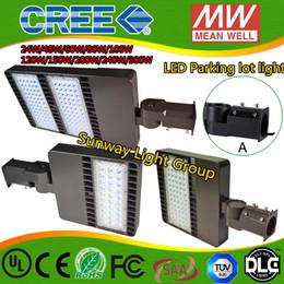 Wholesale LED parking lights led shoe box light parking area lights flood lights led Street Lights w w w w w w ac90 v