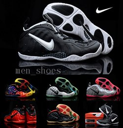 Wholesale 2016 Nike Air Foamposites One Mens Basketball Shoes Penny Hardaway Shoes Original Quality Sneakers With Shoes Box