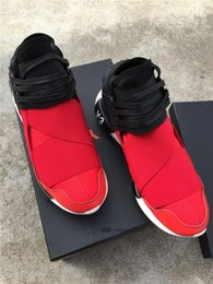 Y3 Boots 2016 Hot Sale Y3 QASA HIGH Men And Women Running Shoes Kanye West Fashion Sports Sneakers Boots Wholesale