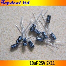 Wholesale 200pcs uF V Radial Electrolytic Capacitors x11mm