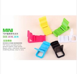 Wholesale Portable Folding Cell Phone Holder Beach chairs L shaped phone holder Mini Stand For red rice note Mobile Phone Accessories