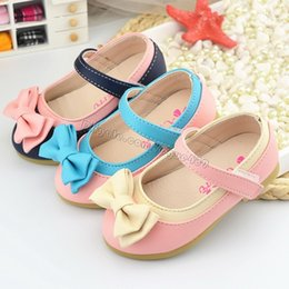 Wholesale Hot Sale Children Shoes Girls Beef Tendon Bottom Flats Kids Casual Princess Baby Girl Leisure Shoes Zapato Bowknot Single Shoe Size