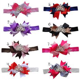 Baby Headband Matching Ribbon Bow Flower with Tiara Baby Headbands Luxe Headband 24pcs lot Trail Order