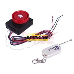 Wholesale Theft Protection Motorcycle Security Alarm System Remote Control Start Vibration Sensor AntiTheft