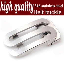 high quality S man belt buckle agio automatically prevent allergy stainless steel 316 waist take the lead CJC0360