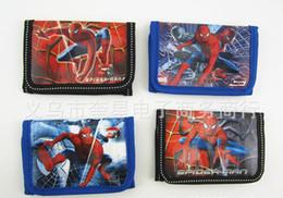 2015 NEW child coin purse wallet boy bag spider-man zero wallet Zero wallet for boy Random color ZX138