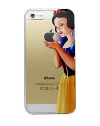 Wholesale Beautiful Girl Grasp Logo Style Hard Plastic Mobile Phone Case Cover For iPhone S S C