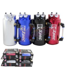Wholesale Xpower Universal mm D1 Turbo Engine Oil Catch Tank Can Reservoir Performance Silver Black Red Blue