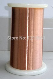 Wholesale Specifications diameter mm M PC QA polyurethane enameled copper wire enameled maintenance cable