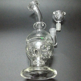 Hot Glass Bong 9 Inches Faberge Egg Oil Rigs Glass Water Pipe For Glass Bong With Domeless Quartz Banger Glass Honey Bucket
