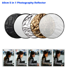 """Photo Reflector 5 in 1 Photography Studio Multi Photo Disc Collapsible Light Reflector 60cm 24"""" Photography Reflector"""