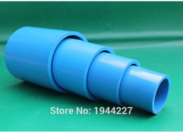 Wholesale High quality mm PVC Pipe Slip Coupling Water Pipe Tube Adapter Connectors White PVC Pipe Fittings