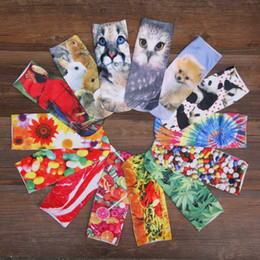 Wholesale-New 1 Pair Girls 3D Animals Printed Animals Multiple Colors Unisex Cute Animal Ankle Women Socks YS9637