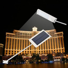 Wholesale 2015 LED Ultra thin Waterproof Solar Sensor Wall Street Light Outdoor Garden Lamp
