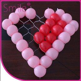 Globos del corazón en venta-Forma de corazón globo de la red romántica escena de la decoración de la boda escena de diseño