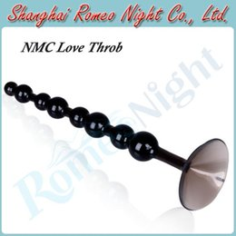 Wholesale NMC Unisex quot Ribbed Anal Pussy Plug Love Throb Anal Toys Butt Plug Erotic Sex Toys Audlt Products
