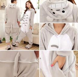 totoro Costume Winter Autumn Cheshire tiger Kigurumi Pajamas Animal Suits Cosplay Outfit Adult Garment Cartoon Jumpsuits Unisex Animal