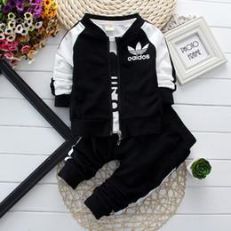 Wholesale boys clothes baby boy clothing sets children autumn wear tracksuit kids coat tshirts pants baby outfits infant boy boutique cost ZJ1252