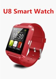 2015 Bluetooth Smartwatch U8 U Watch Smart Watch Wrist Watches for iPhone 4 4S 5 5S 6 Samsung S4 S5 Note 2 3 HTC Android Phone Smartphones
