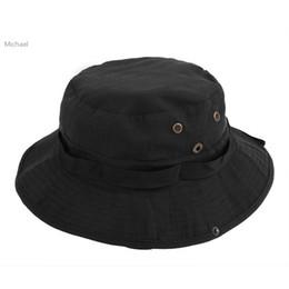 Promotion cap arrondi pour les hommes Gros-Nouveau Mode Hommes extérieur Cap solaire Pêche Camouflage ronde Motif Hat 29