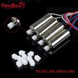 Wholesale 10 Spare Part Motor Engine Wheel Gear For SYMA X5C X5 RC Quadcopter Helicopter Drone Accessories Spare Parts