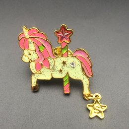 Brooch accessory, animal 10PC, unicorn jewelry, provide production.Used for jeans, hats and other decorative brooches