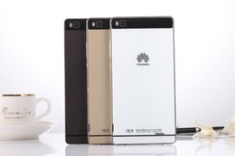 Wholesale New Copy unlocked Huawei P8 plus inch Phone Octa Core Android cellphone GB RAM GB ROM Free led light