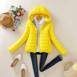 Wholesale Short Leather Jackets For Ladies - 2016 Warm winter parka coats jackets for women ladies jackets Slim Short padded women leather jackets for women