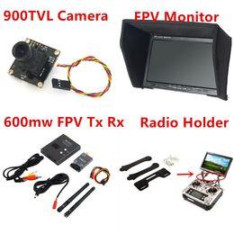 Wholesale 2015 New Fpv Kit Combo System TVL Camera Ghz mw VTx VRx x480 HD Sonw Monitor Radio holder for RC Car
