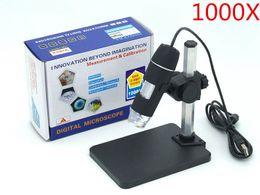 Wholesale x USB Digital Microscope holder new LED Endoscope with Measurement Software usb microscope