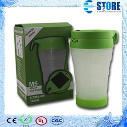 Wholesale Solar Indoor Reading Lights - High Quality Solar Powered Outdoor Indoor Solar Led Lamp Solar Cup Light for Drinking and Reading