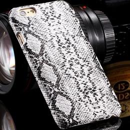 2017 teléfonos celulares casos de cuero Vintage de Elegent serpiente patrón de la piel del teléfono de la PU Soft Cell cuero para el iphone 6 4.7 pulgadas retro delgado de la contraportada de Shell para el iphone teléfonos celulares casos de cuero Rebaja