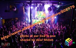 Wholesale DMX Stage co2 jet machine Large Sized CO2 Jet device with Meter Long Hose and One DMX Cable