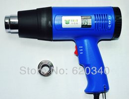 Wholesale BEST With digital display of the wind heat gun BEST LCD portable heat gun can be arbitrarily adjust temperature order lt no track